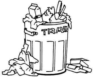 clip art trash can