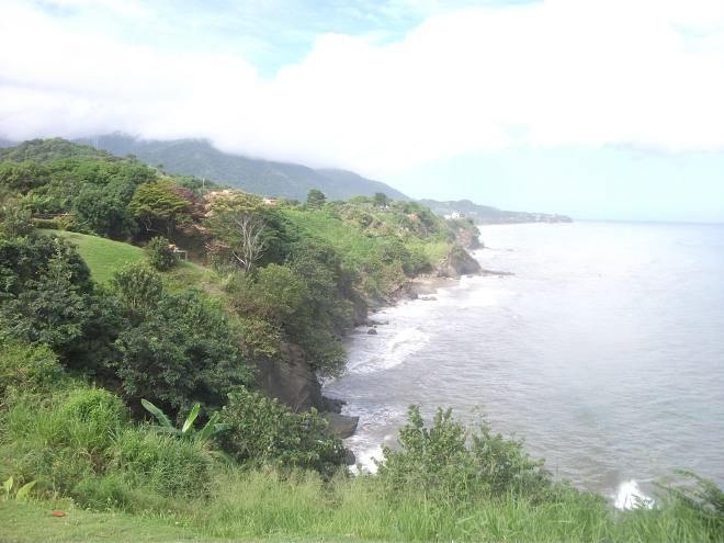 Vista desde Lomas de Caruao en Venezuela