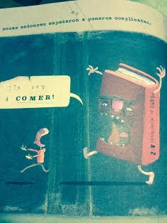 """Imagen del libro """"El increíble niño comelibros"""" de Oliver Jeffers, Fondo de Cultura Económica"""