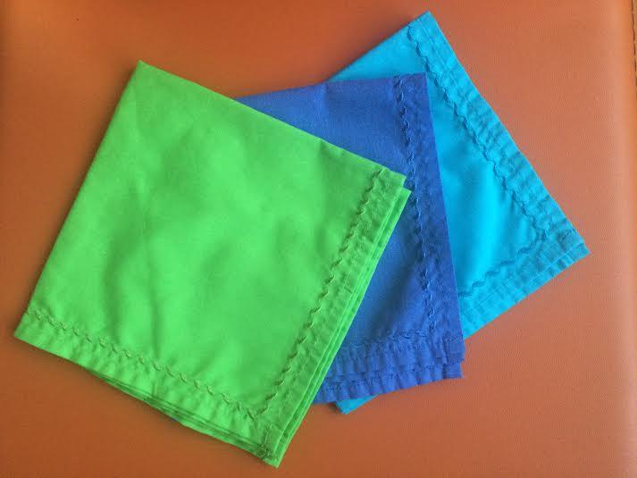 C mo usar servilletas de tela a diario sin complicarse la - Como doblar servilletas de tela ...